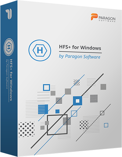 Paragon HFS+ for Windows (Multilingual)