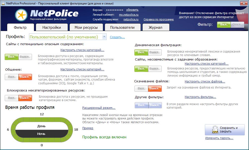 Netpolice pro скачать бесплатно c ключом