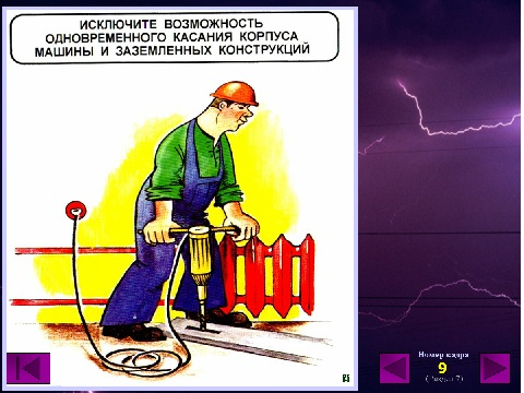 электробезопасность в презентациях