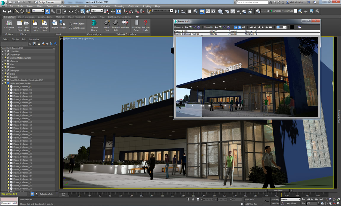 3ds max allsoft for Autodesk online home design