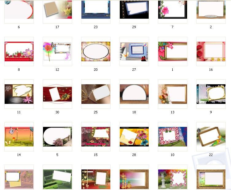 Скачать шаблоны для школьных фотографий бесплатно