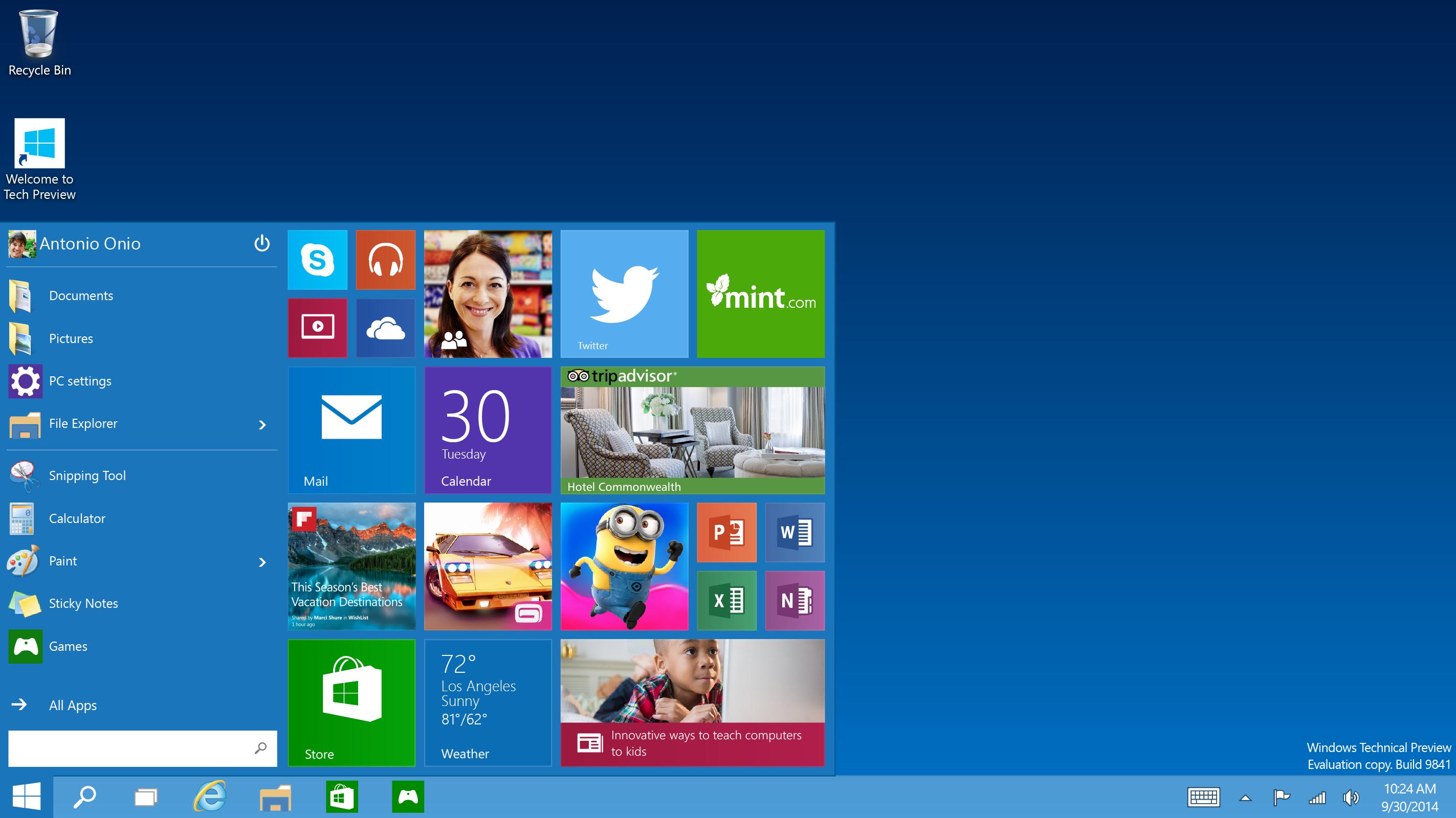 Microsoft windows 10 — новая операционная система для широкого набора устройств: пк, серверов, телевизоров, планшетов и.