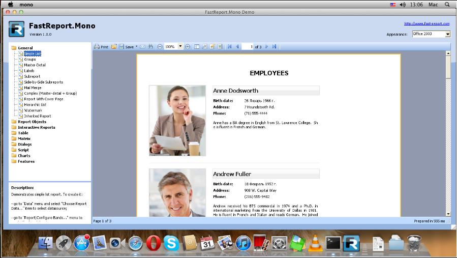 Fastreport, report, apple, generator, report, windows, platform, embarcadero, reports, firemonkey, based, delphi
