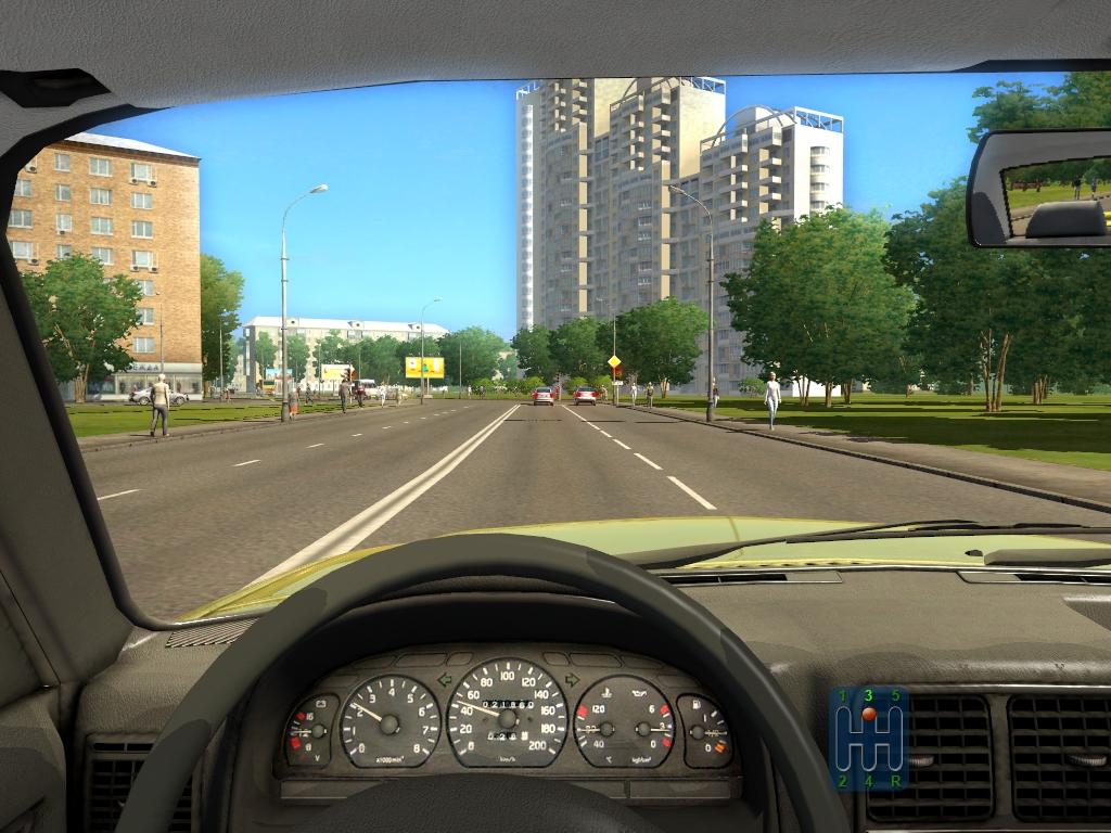 симулятор вождения City Car Driving скачать торрент - фото 9