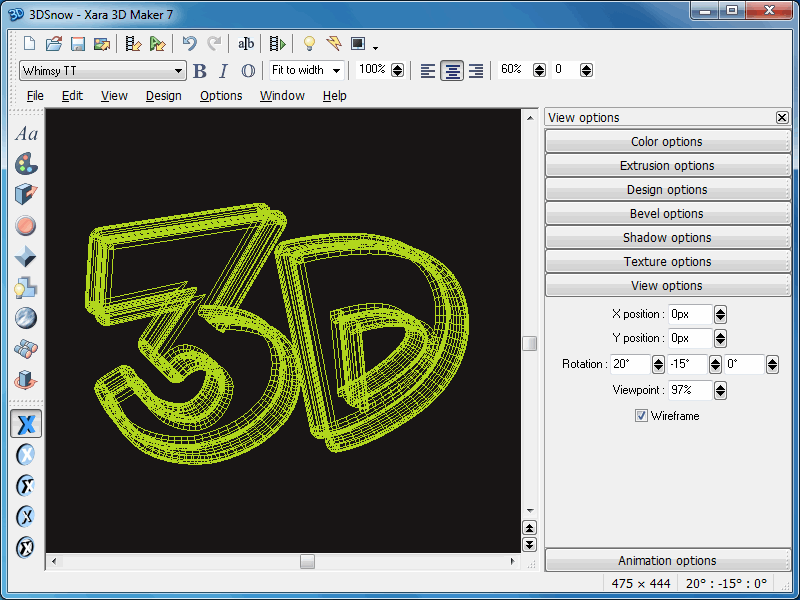 Create 3d graphics with xara maker 7, the easy to use software from xara