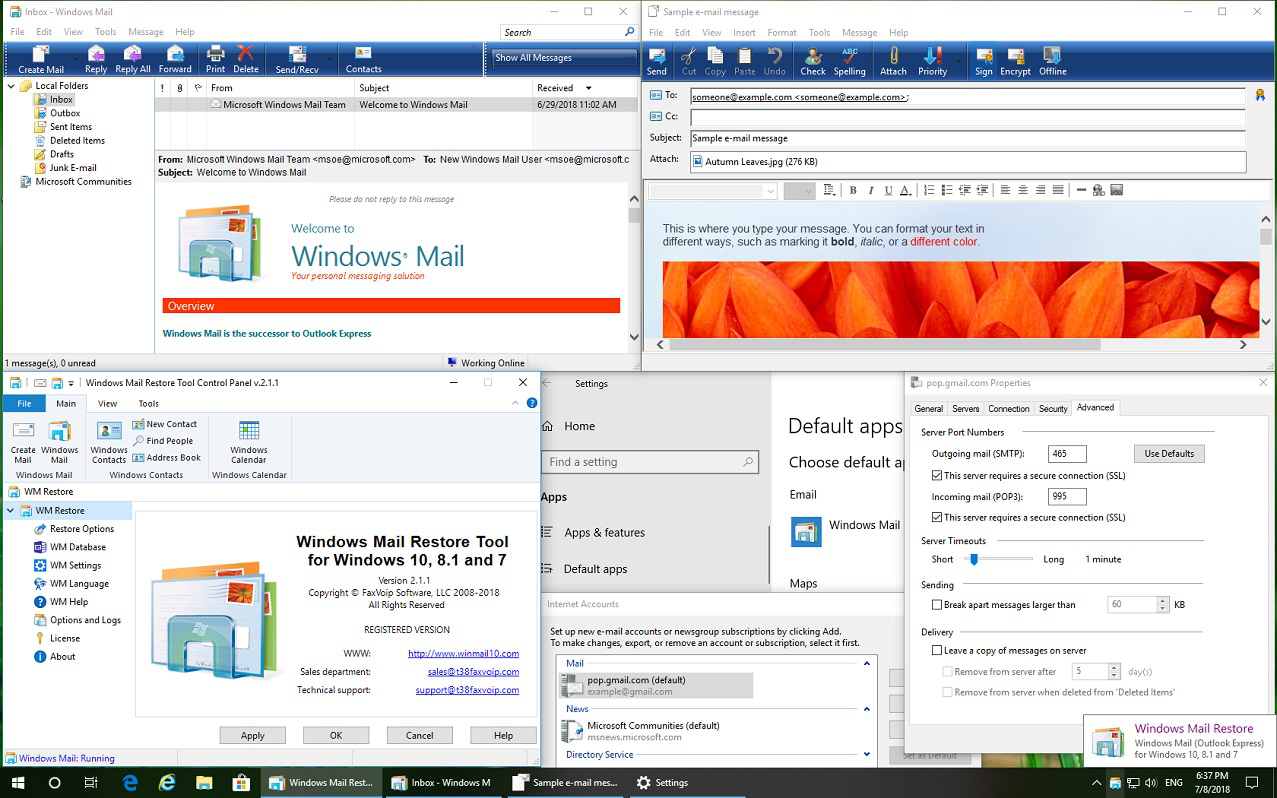 Купить Windows Mail Restore Tool в Allsoft