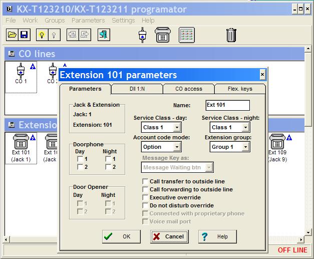 Мини-атс panasonic kx-ta 616 принадлежит к семейству аналоговых телефонных станций